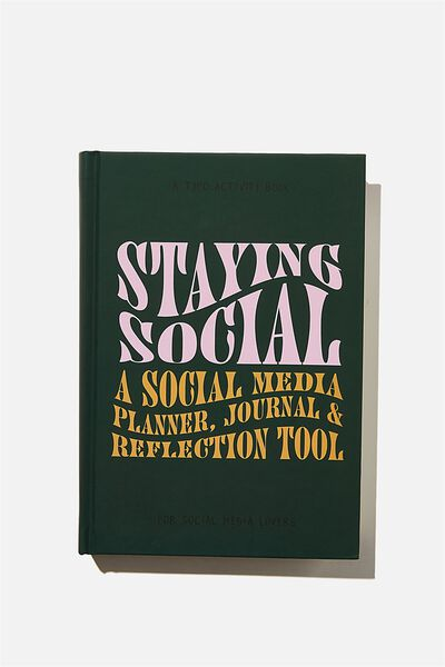 A5 Fashion Activity Journal, STAYING SOCIAL