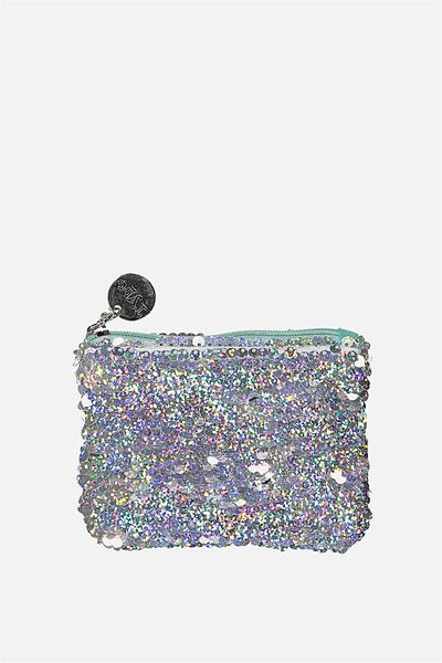 Penny Coin Purse, HOLOGRAPHIC SEQUINS