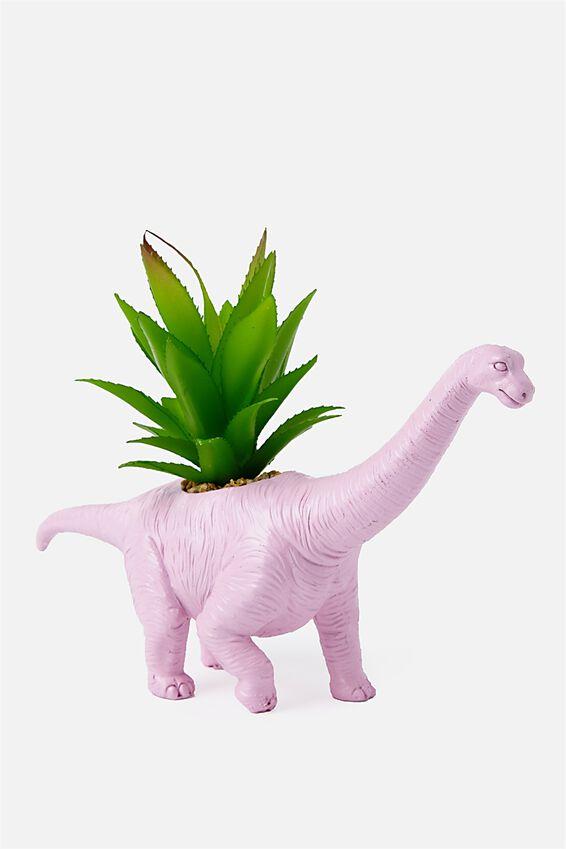 Shaped Planter, BRACHIOSAURUS