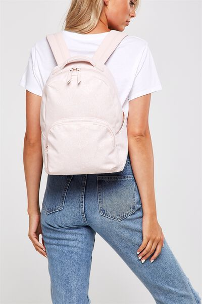Get Set Backpack, BLUSH LACE