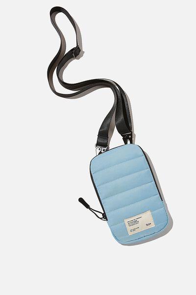 Essential Phone Sling, DENIM BLUE AND MUSTARD