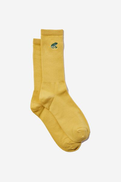 Socks, EMBROIDERED FROG