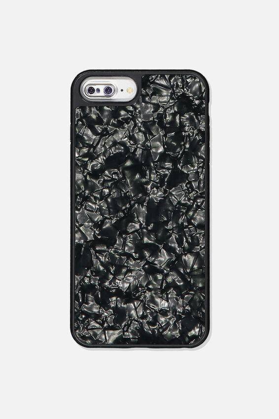 Snap On Protective Phone Case 6, 7, 8 Plus, BLACK PEARL
