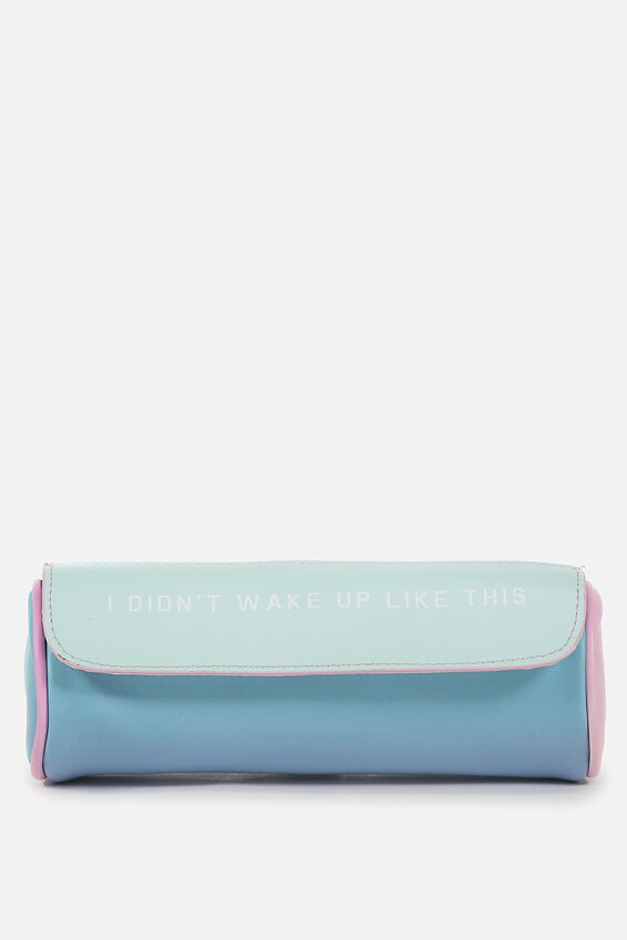 Roll Up Cosmetic Bag, OMBRE
