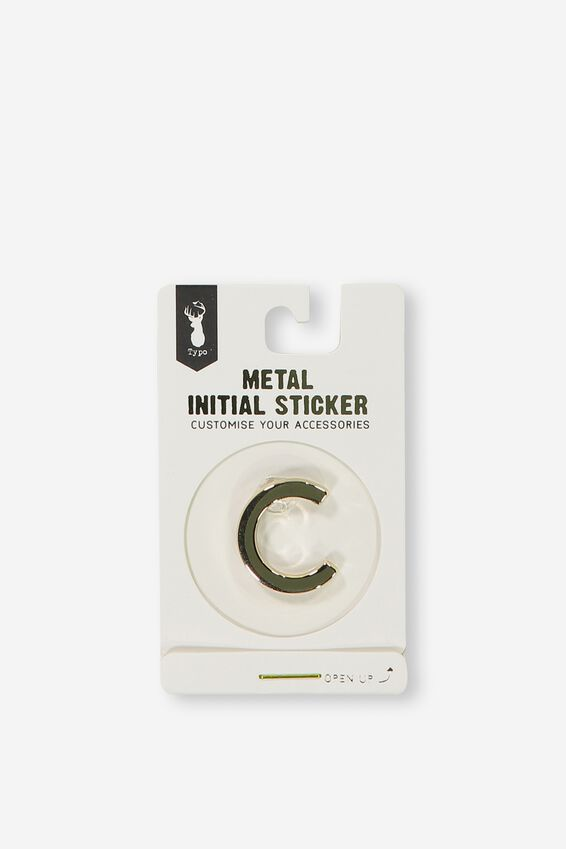 Metal Stickers, GOLD C