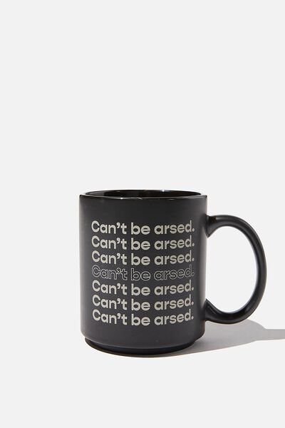 Daily Mug, RG CAN T BE ARSED!