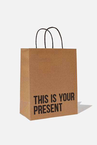 Get Stuffed Gift Bag - Medium, THIS IS YOUR PRESENT CRAFT
