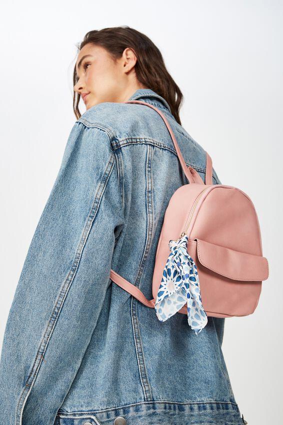 Mini Cairo Backpack, DUSTY PINK