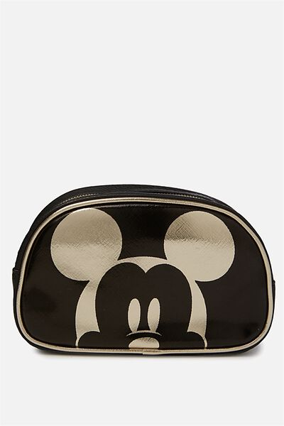 Fly High Cosmetic Case, LCN GOLD MICKEY EARS