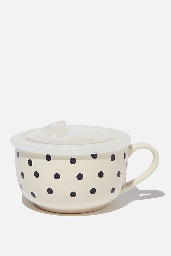 Big Mug Bowl, DOTTIE SPOT