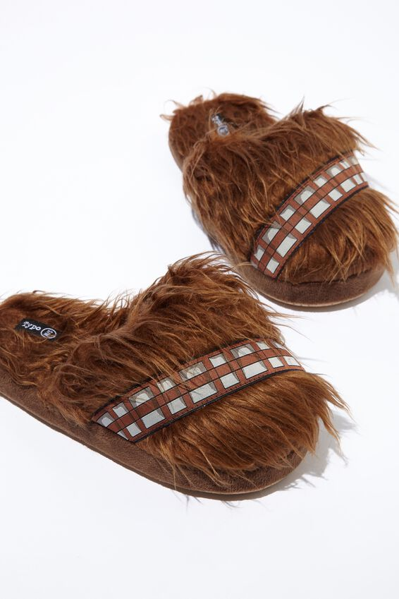 Chewbacca Novelty Slippers, LCN STAR WARS CHEWBACCA