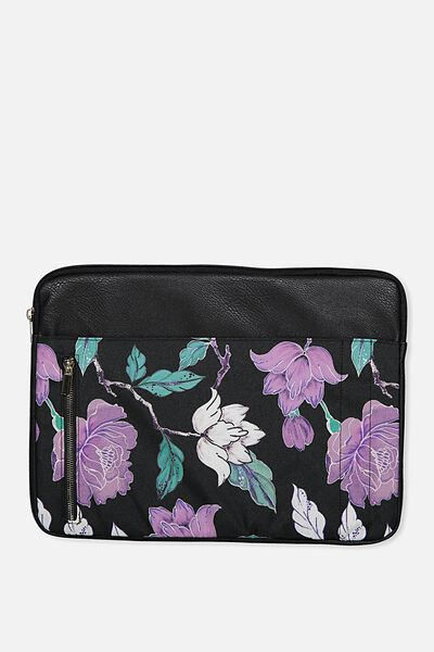 "Take Charge Laptop Cover 15"", LUSH FLORAL"
