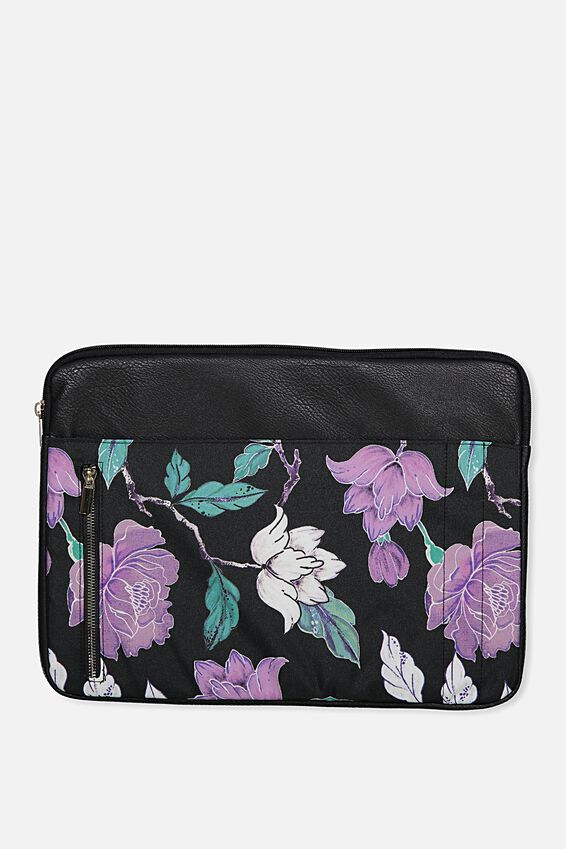 Take Charge 15 Inch Laptop Cover, LUSH FLORAL