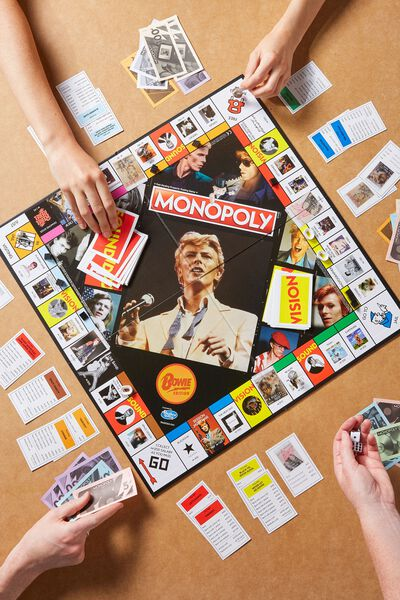 Monopoly Board Game, LCN BOWIE