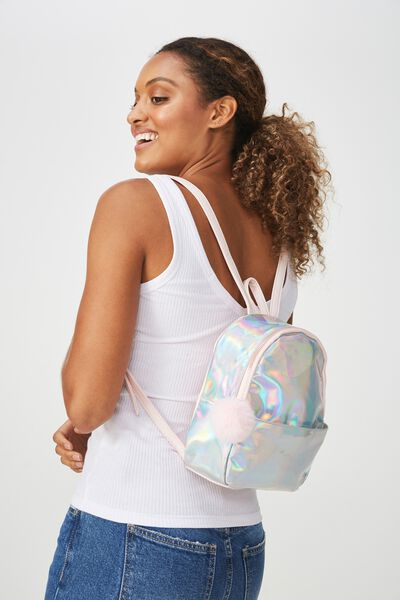 Mini Cairo Backpack, IRIDESCENT