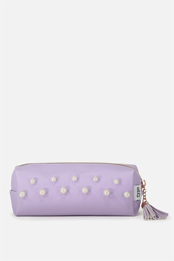 Bailey Pencil Case, LILAC PEARL