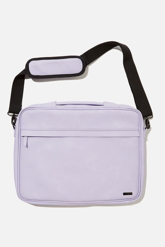 Mobile Desk 15 Inch, PALE LILAC & GINGHAM PALE LILAC