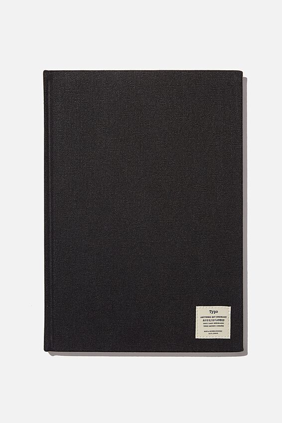 "A4 Sketch Notebook (8.27"" x 11.69""), BLACK"