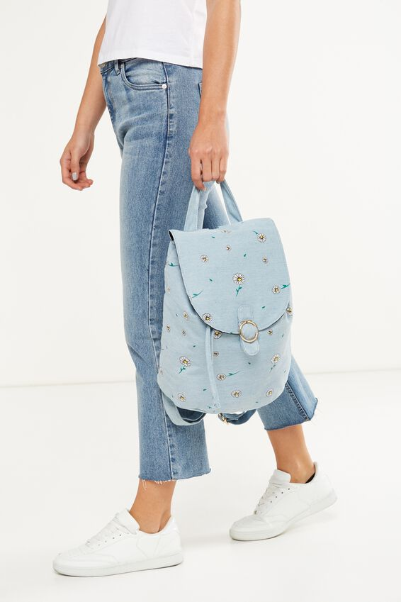 Pacific Backpack, DITSY CHAMBRAY