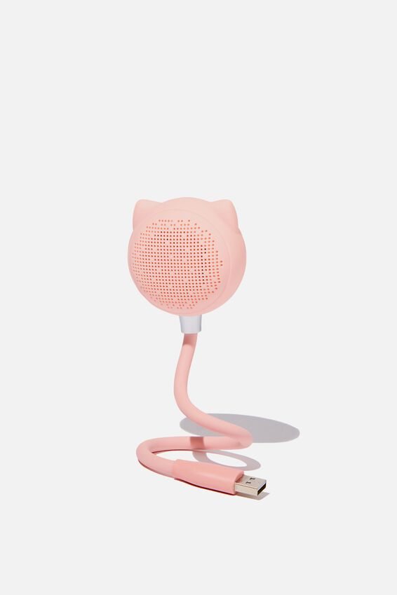 Led Wireless Usb Speaker, BLUSH