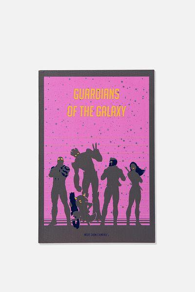 "A5 Textured Notebook (8.27"" x 5.83""), LCN MAR GG GUARDIANS OF THE GALAXY"