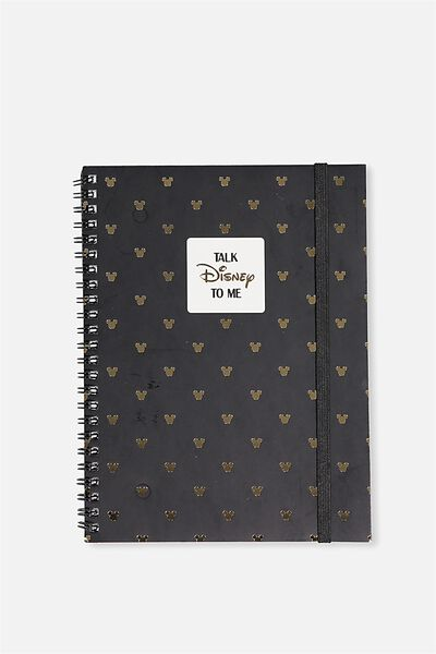 A5 Spinout Notebook - 120 Pages, LCN FLUENT DISNEY