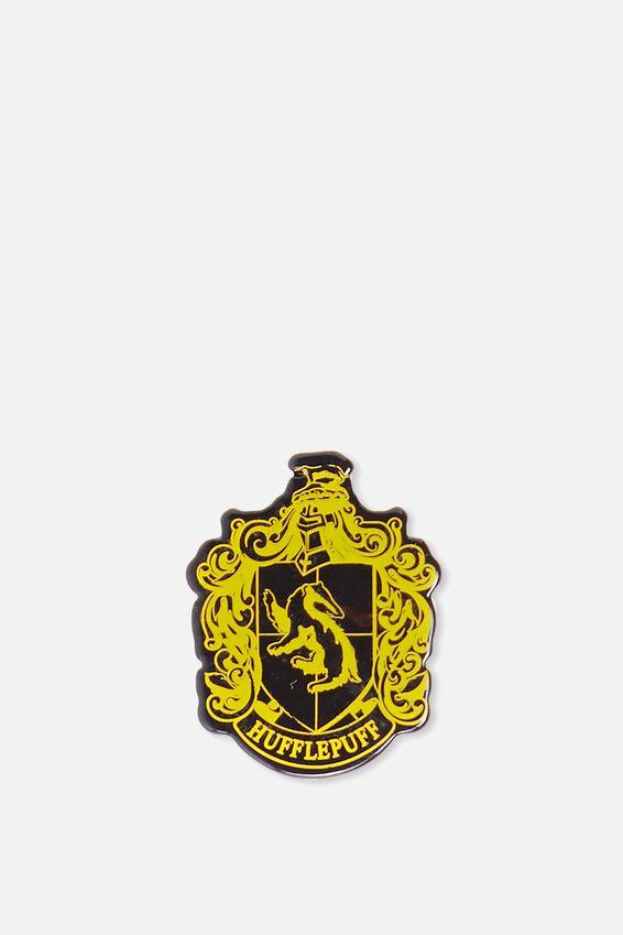 Harry Potter Enamel Badge, LCN HUFFLEPUFF