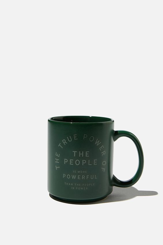 Daily Mug, POWER OF THE PEOPLE