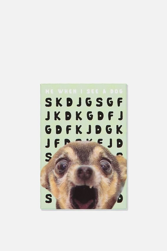 Quirky Magnets, SEE A DOG