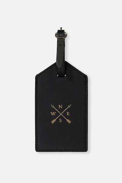 Luggage Tag, BLACK ARROWS