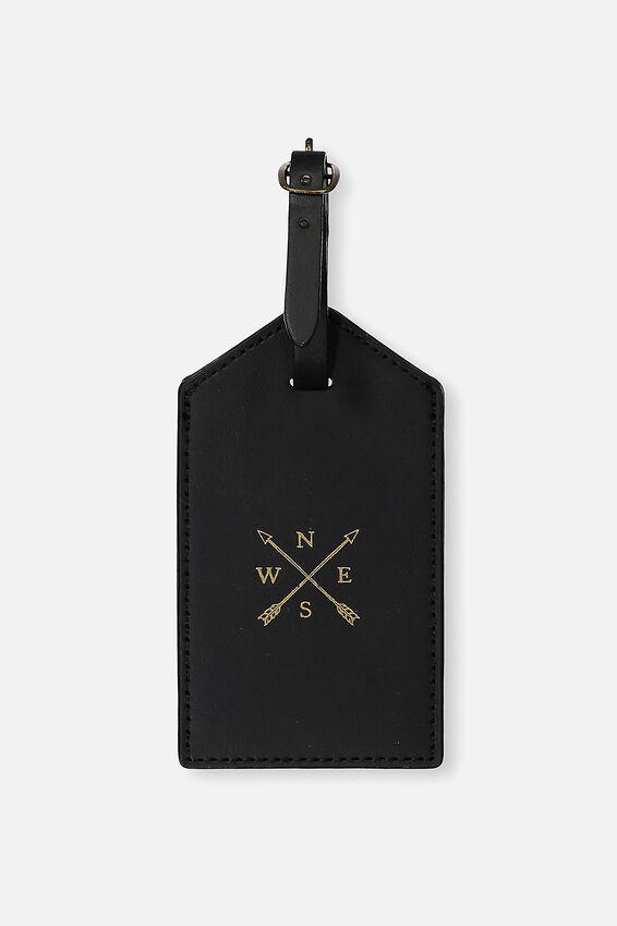 Luggage Tag, BLACK ARROWS