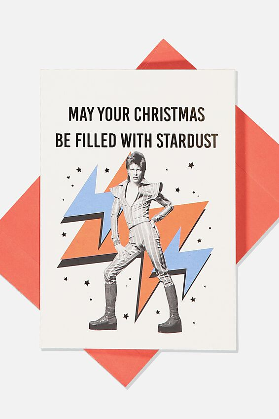 David Bowie Christmas Card 2019, LCN PER DAVID BOWIE