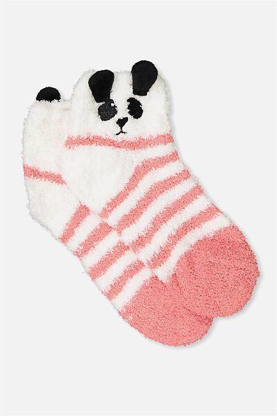 Slipper Sock, PANDA