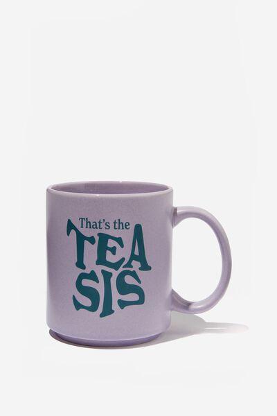 Daily Mug, TEA SIS GREEN