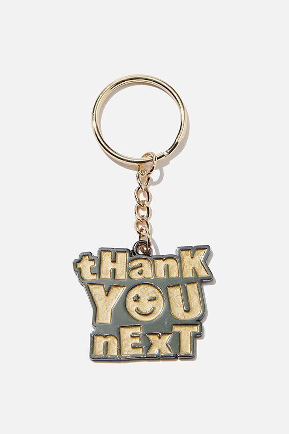 Enamel Keyring, THANK YOU NEXT