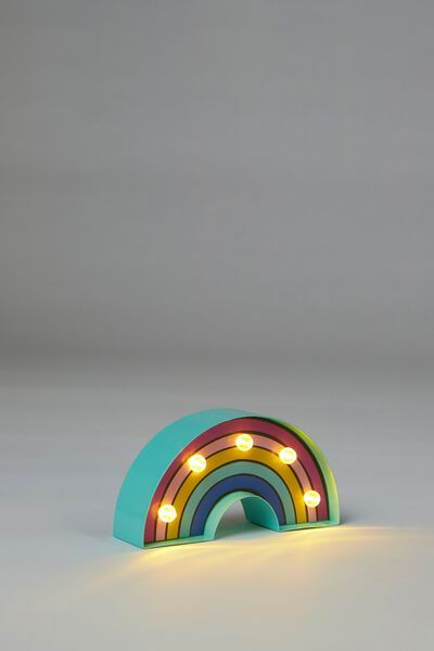Shaped Mini Marquee Light, RAINBOW