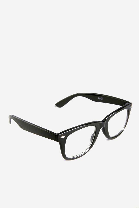 Nerd Glasses, BLACK