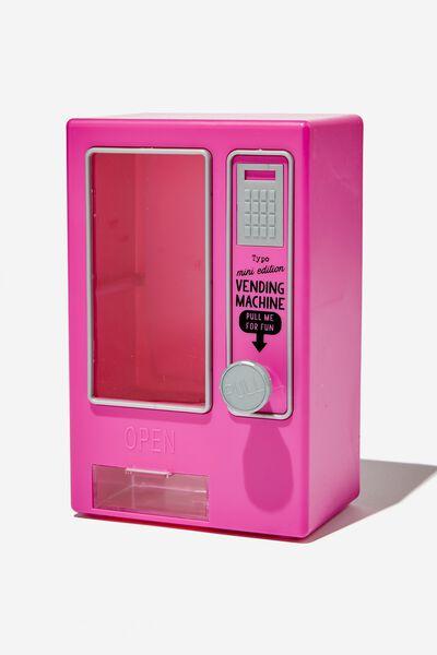 Mini Vending Machine, MAGENTA MATTE