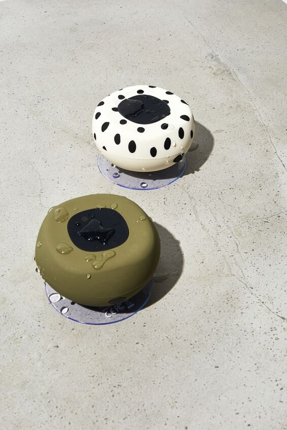 Wireless Shower Speaker, MATTE KHAKI 2.0