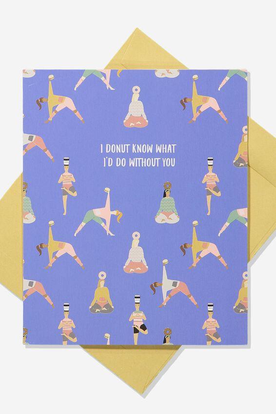 Love Card, DONUT KNOW