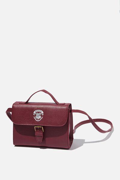 Mini Nuevo Satchel Bag, LCN WB BURG HARRY POTTER EMBLEM