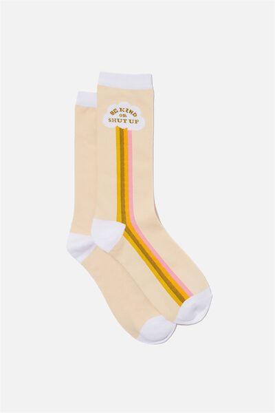 Socks, BE KIND STRIPE