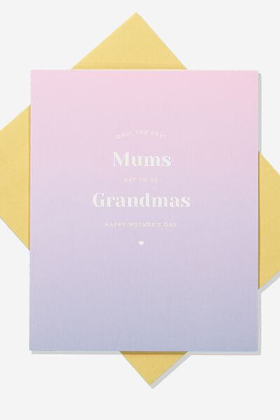 Mothers Day Card 2019, GRANDMA MUM