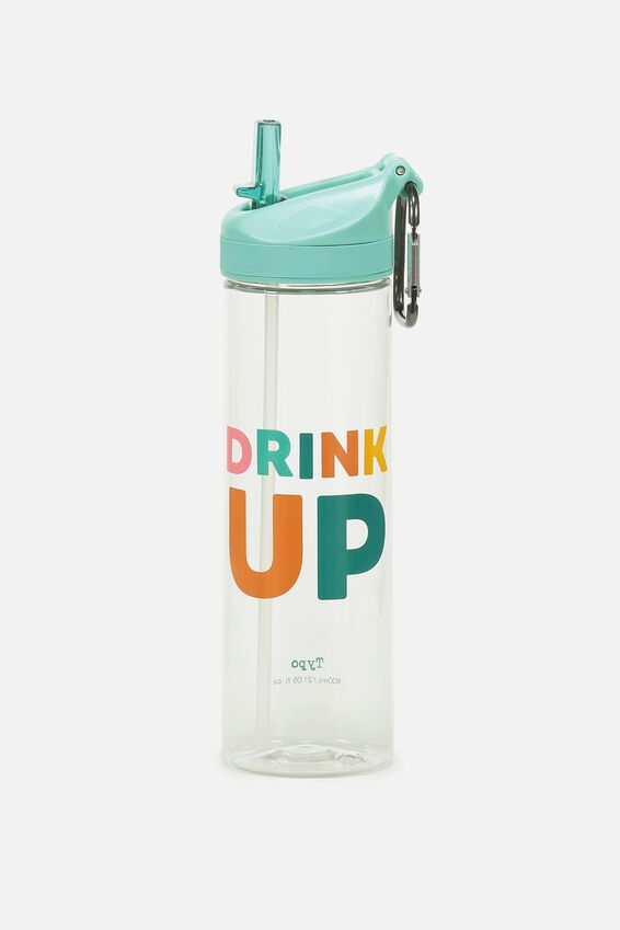 The Clipper Drink Bottle, DRINK UP
