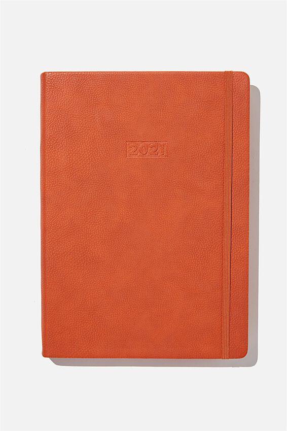 2021 A4 Daily Buffalo Diary, RUST