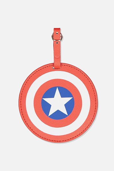 Shape Shifter Luggage Tag, LCN MARVEL CAPTAIN AMERICA