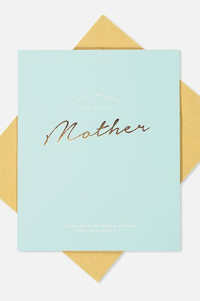 Mothers Day Cards 2018, SMILE MOTHER