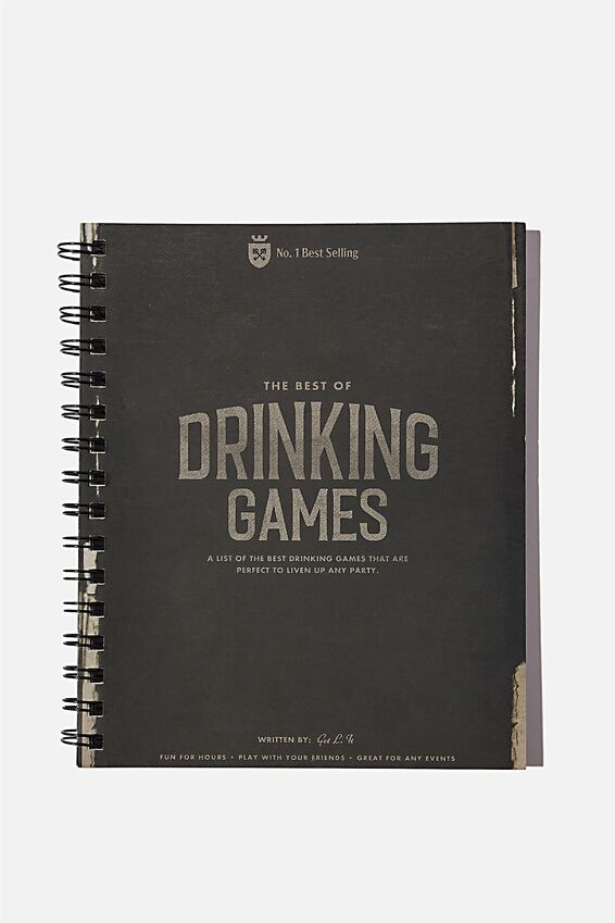 A5 Campus Notebook Recycled, DRINKING GAMES