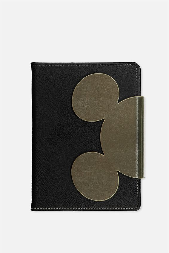 A5 Medium Shaped Notebook, LCN MICKEY EARS