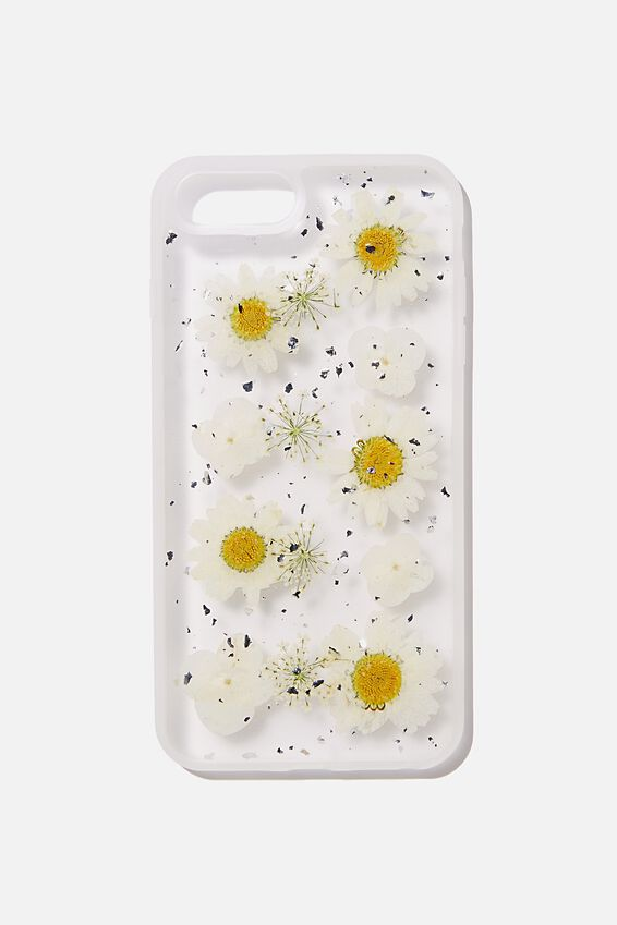 Protective Phone Case 6,7,8 Plus, TRAPPED DAISY